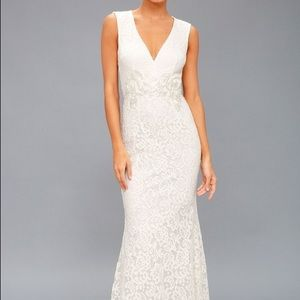 NWT Lulu's Ceci Wedding Dress